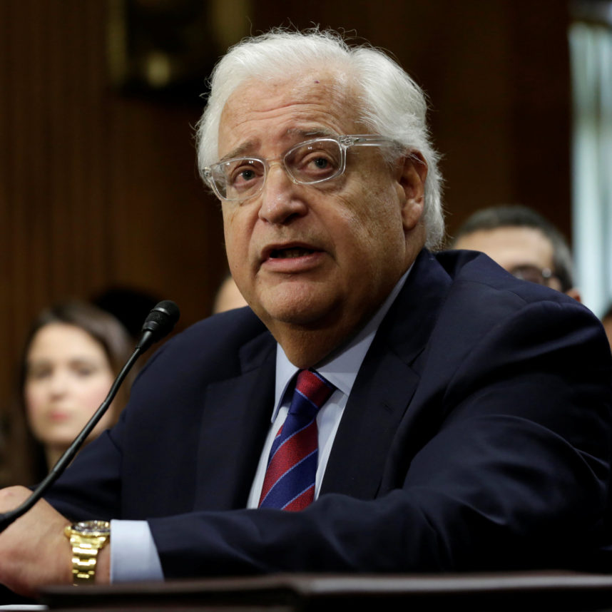 David Friedman. Photo by Yuri Gripas/Reuters